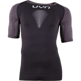 UYN Marathon OW SS Shirt Men, blackboard/charcoal/white